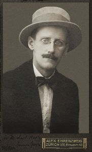 James Joyce c 1915
